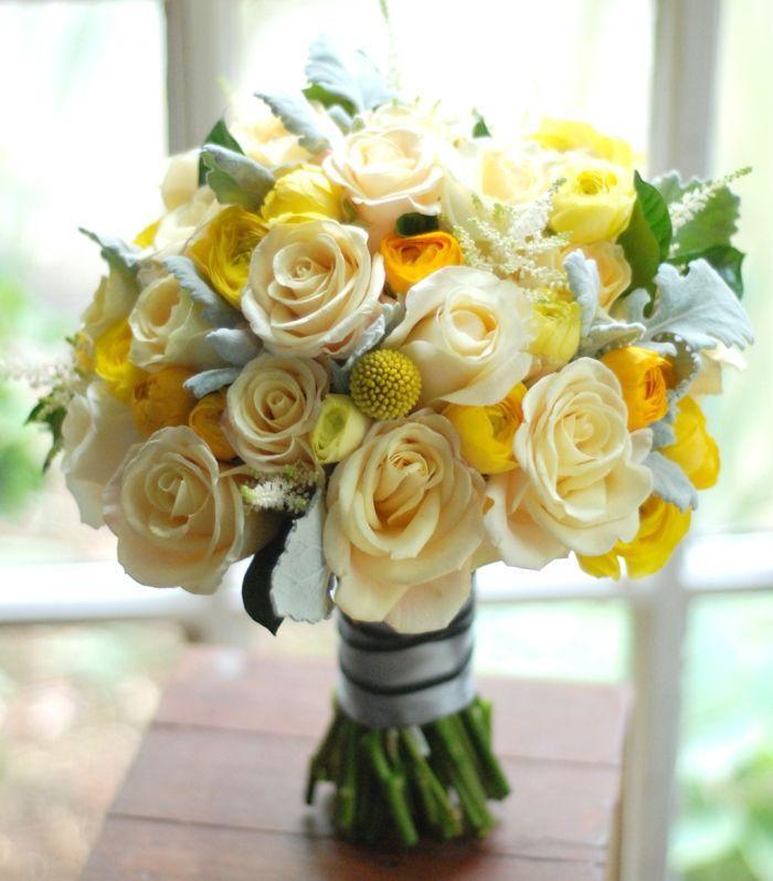 78 wundervolle Blumensträuße für fröhliche Anlässe | Gelbe rosen ...