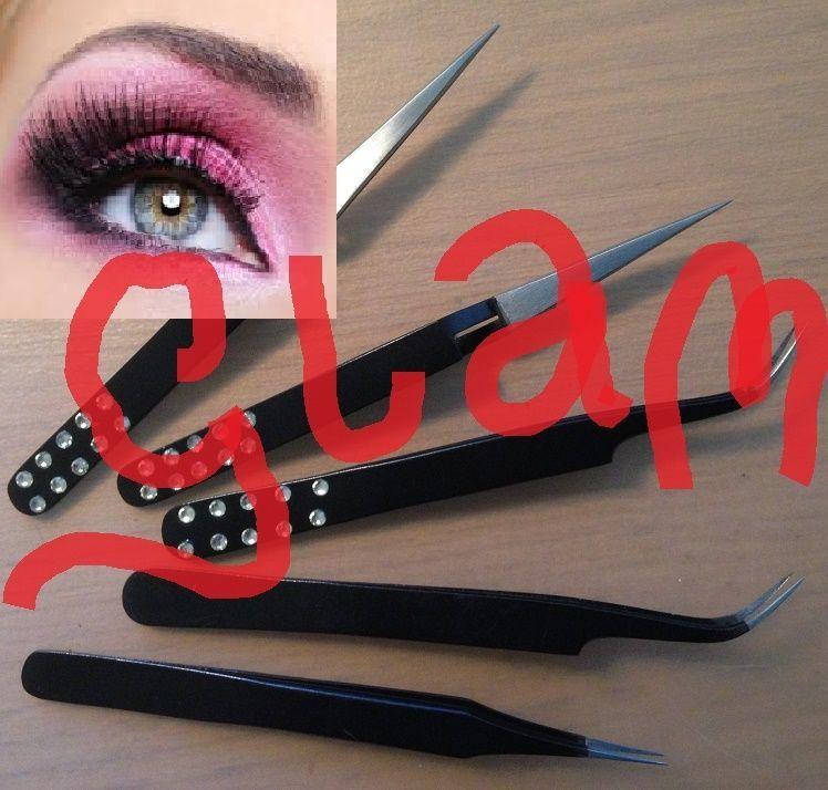 New to Ebay-Professional Eyelash Extension Tweezers ...