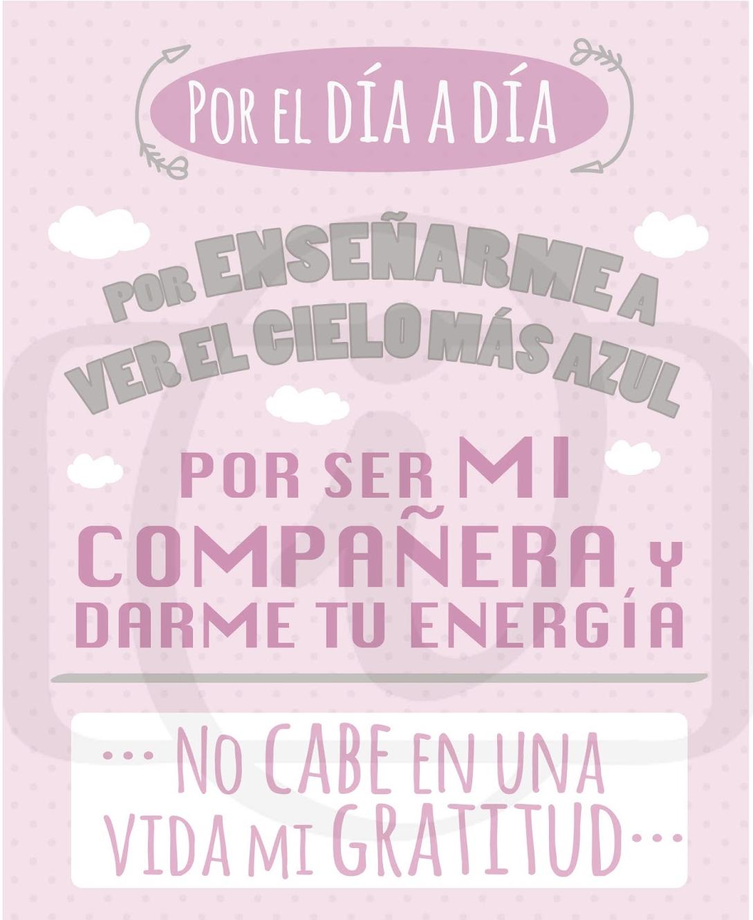 Tarjeta Día de las Madres.