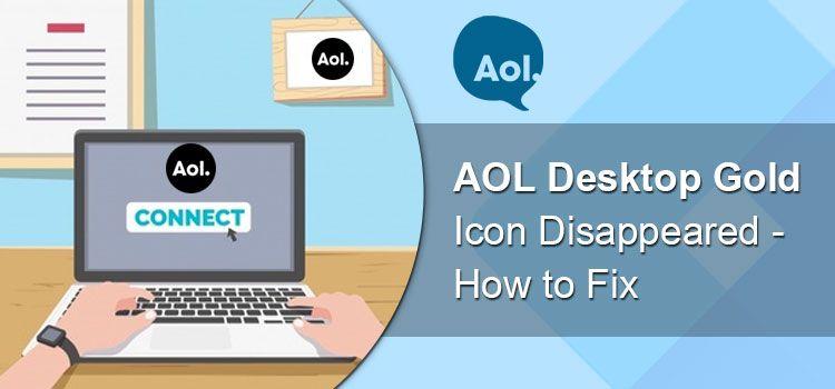 12084256288 AOL desktop icon not working Desktop