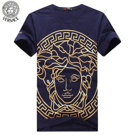These replica men s versace t-shirts are made of good quality material,  they looks the same as originals, generally consumer can not recognize they  are ... 6dbd57e4617