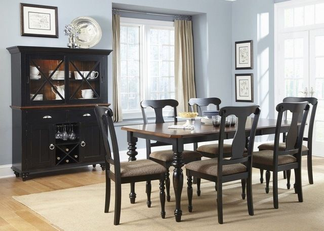 Love hutch Table color? mesas Pinterest Dining room design