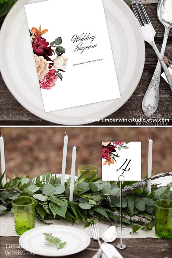 floral table number template printable table number diy table