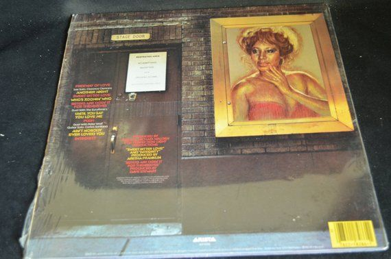 Vintage Vinyl Record Aretha Franklin Who S Zoomin Who Album Al 8
