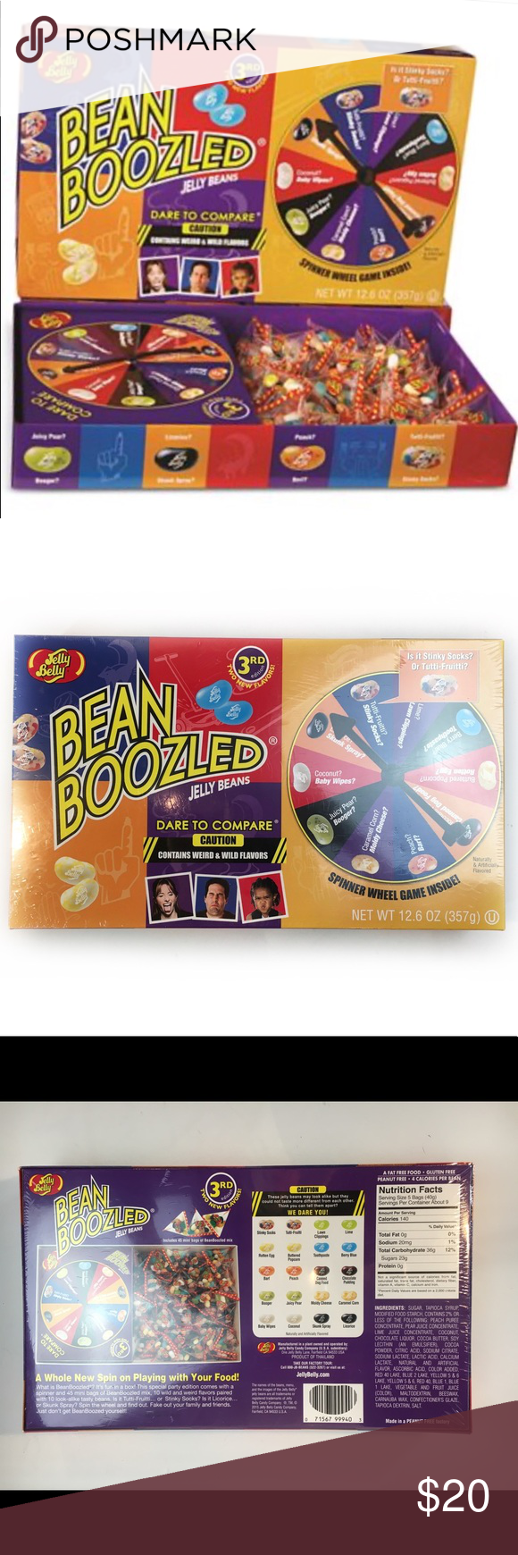New Jelly Belly Bean Boozled 3rd Ed Sealed Game Jelly Belly Beans Jelly Belly Bean Boozled Jelly Belly
