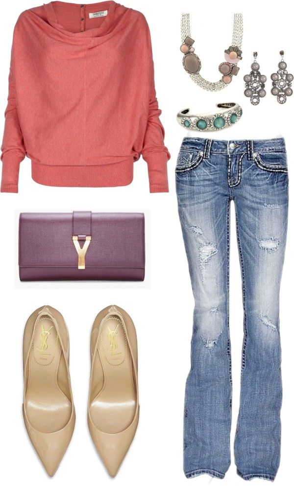 """Casual Fall"" by lilyms on Polyvore"