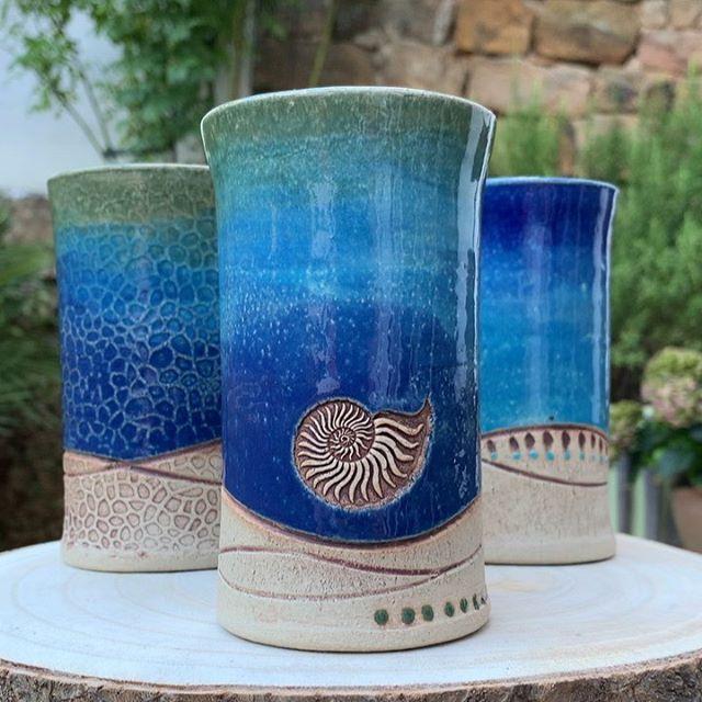 Brigitte-Marston.de – Keramik und Malerei #potterytechniques