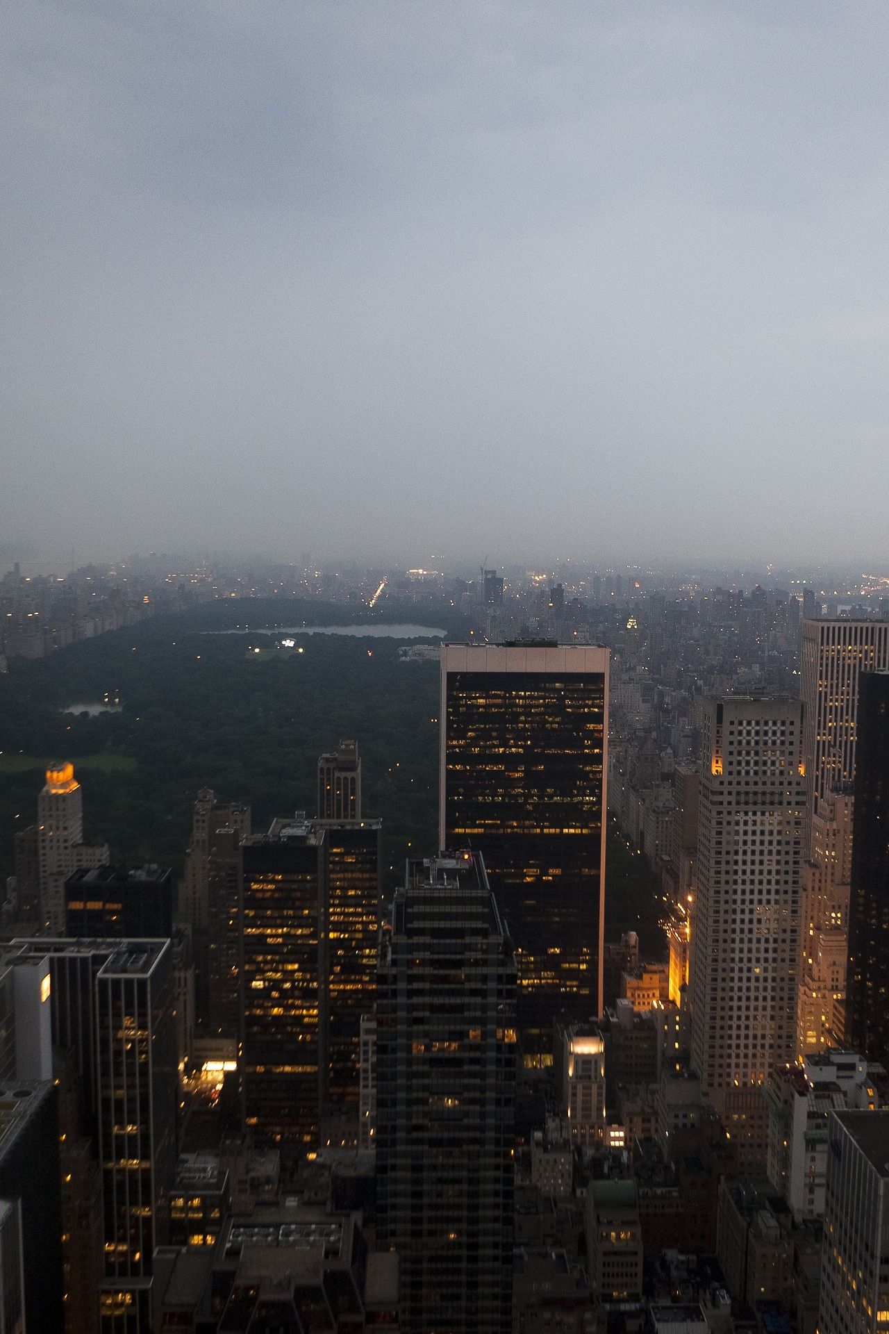 Central Park before a storm by (Dan Nguyen)