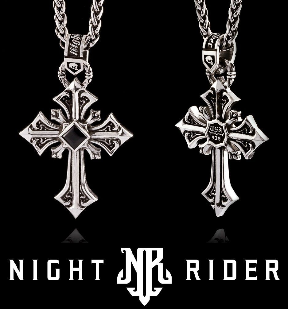 Ancient Style GEMSTONE Choice Jewelry 925 Silver Plated CROSS Pendant