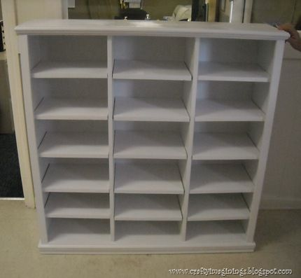 Diy Storage Cubbies With Adjustable Shelves Built With The Kreg Jig Mini And Shelf Pin Jig Diy Cubbies Storage Diy Storage Cubby Storage