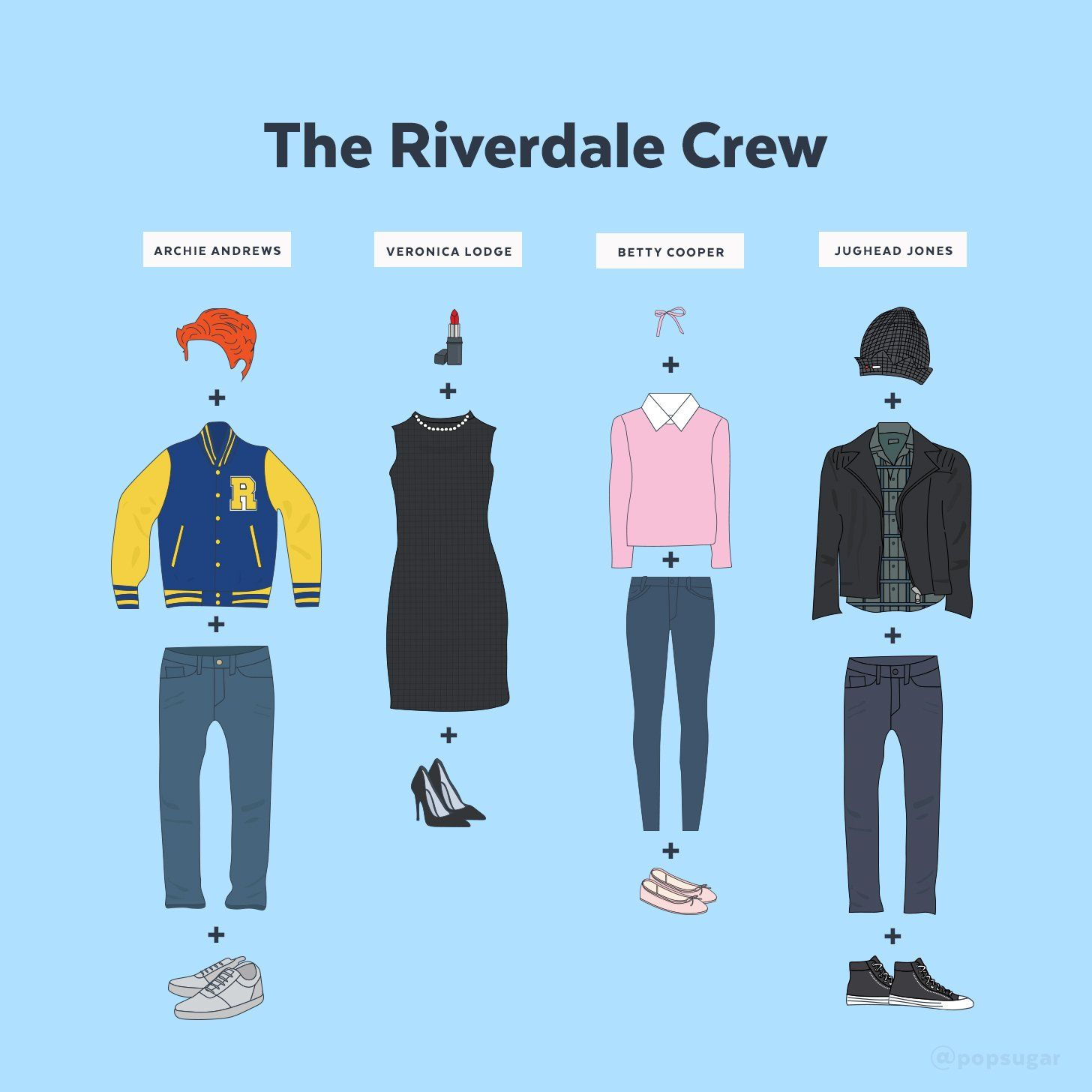 The Easy Diy Riverdale Costumes You Ll Want To Rock With Your Bffs