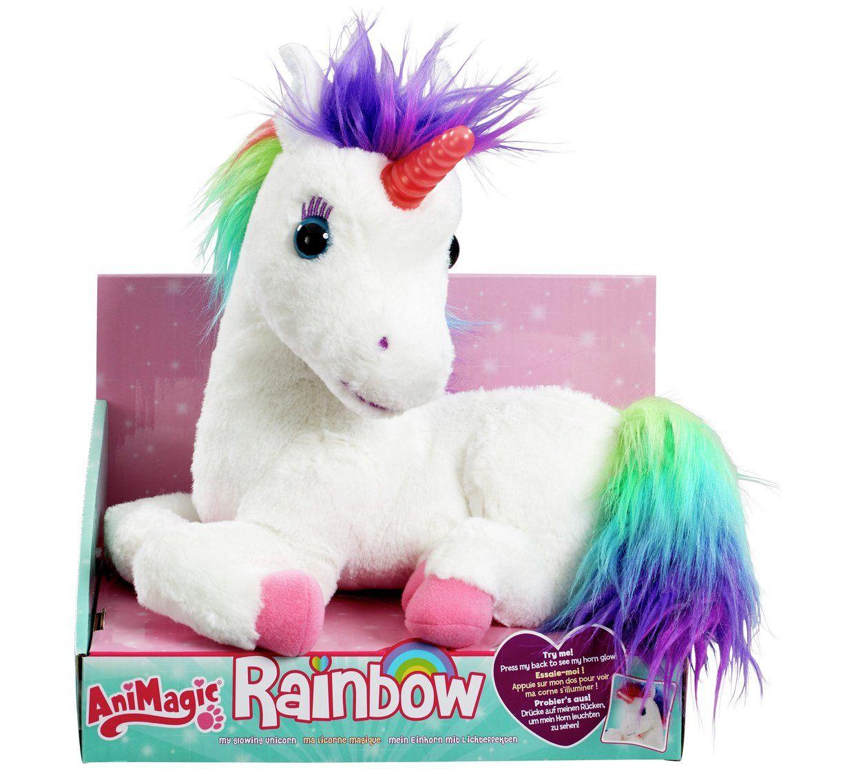 Buy Animagic Rainbow My Glowing Unicorn Teddy Bears And Soft Toys Argos Hugs And Cuddles Unicorn Toys Unicorn Plush