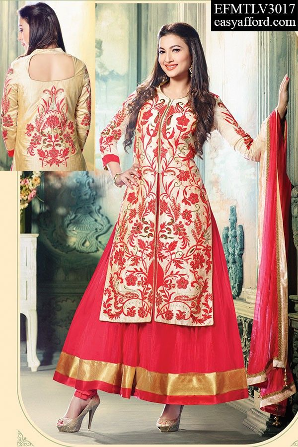 Today's Price Rs 3807/- For Order Call/Whatsapp 08968017642, 07837409851 or Click the below link http://easyafford.com/anarkali-suits/1827-designer-guahar-khan-anarkali-suit-with-jacket.html  #OnlineBollywoodSuit #LatestSalwarSuit #OnlineAnarkaliSuit #OnlineDesignerSuit #OnlineSalwarSuit #Indianwear #EthnicWear #BuyDesignerDresses #OnlineEmbroideredSuit #HeavySuit #GauharKhanSuit #OnlineLatestDesigns #PartyWearSuit #SalwarSuit #onlineShopping #OnlineIndianSuit