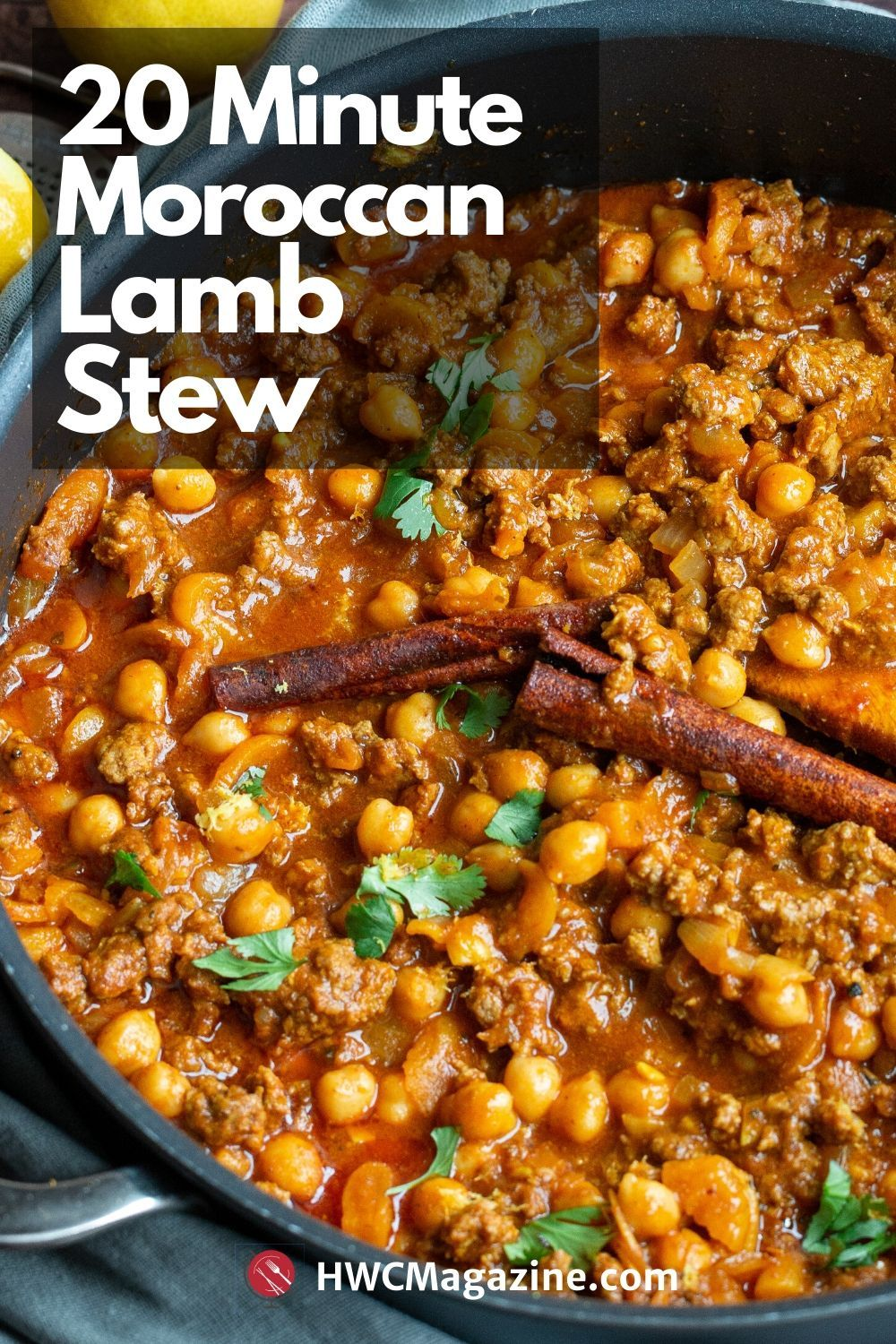 Easy Moroccan Ground Lamb Stew Recipe In 2020 Lamb Stew Recipes Lamb Stew Ground Lamb Recipes