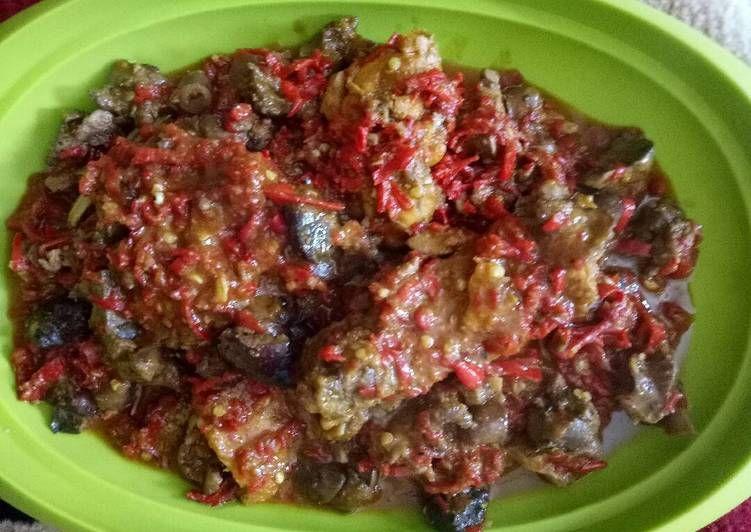 Resep Sambel Goreng Ati Ampela Cirebon Oleh Dsy Nila Sari Resep Resep Rebusan Tumis