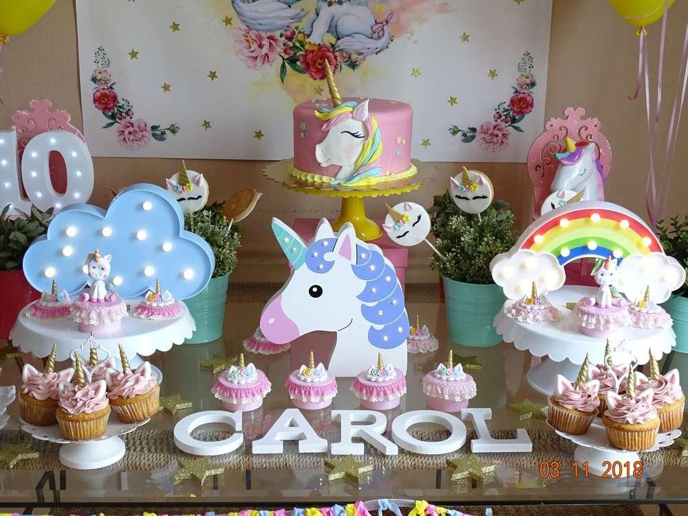 Unicorn Birthday Party Ideas Photo 1 of 31 Catch My