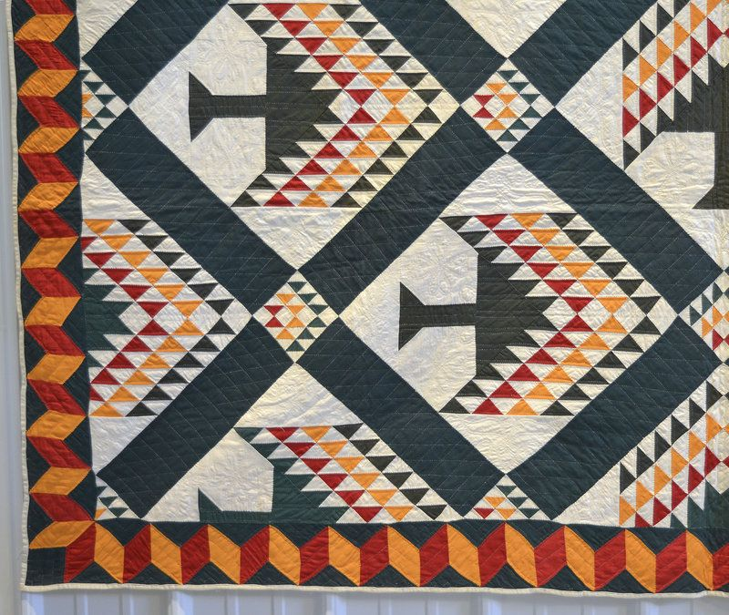 Pine Tree Quilt: Circa 1880; West Virginia $5800. | Antique quilts ... : pine tree quilts - Adamdwight.com