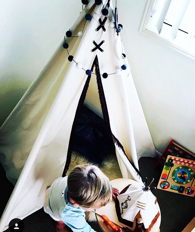 Native Inspired Tee Pee by Banana j Creations. Perfect addition to any little boys room & Native Inspired Tee Pee by Banana j Creations. Perfect addition to ...