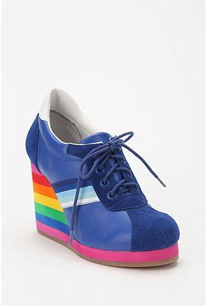 Rainbow Brite called: she wants her shoes back.