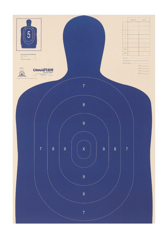 B 21 Police Shooting Targets Police Shooting Target...