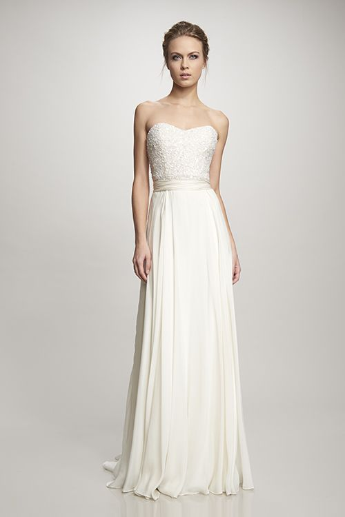 Rachel By Theia White Sample Sale For 225 Www