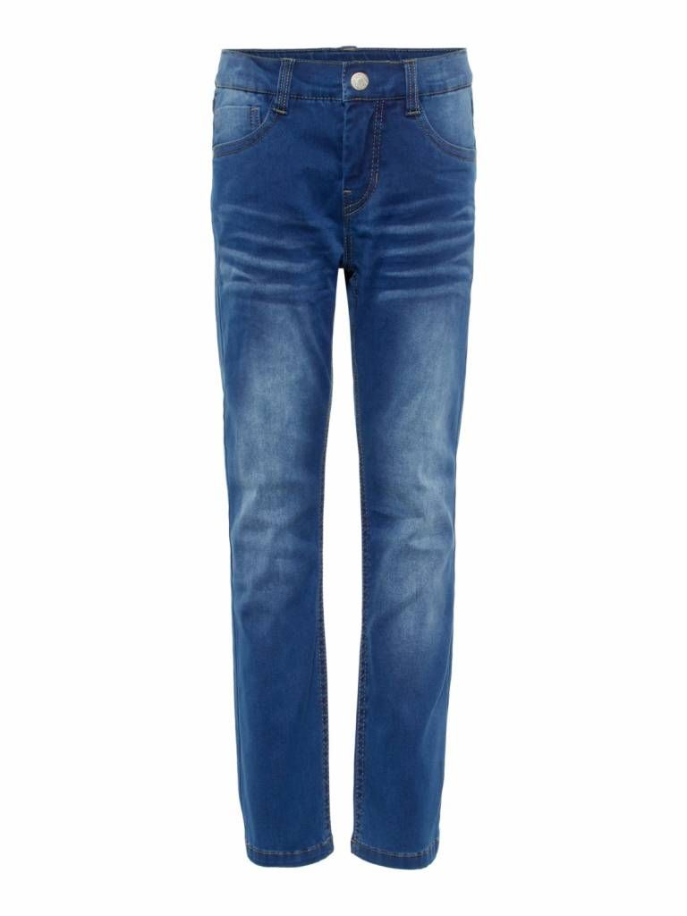 Joggingbroek Met Rits Jongens.Name It Jeans Ryan Dnmtaz Medium Blue Name It Jeans Blue En Names