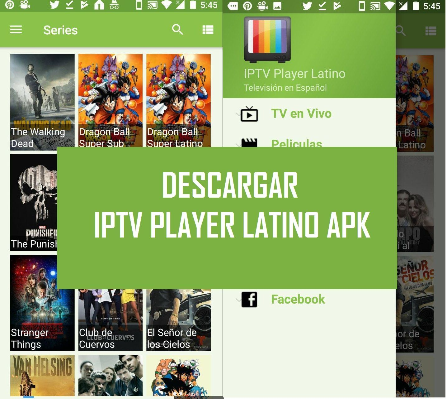 ❤️ Descargar IPTV Player Latino apk gratis para Android 2018