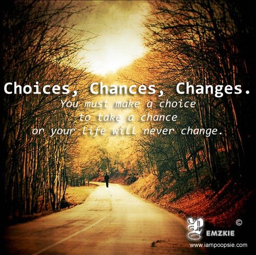 the choices we must make in the journey of life We all make decisions every day some of them are minor, like what to wear and where to go for lunch  making godly decisions  we must all adopt the attitude of .