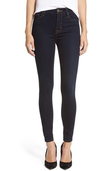 3e47f5c6240 Get rid of muffin top with high waisted jeans. Hudson Jeans  Barbara  High  Rise Skinny Jeans (Delilah) available at  Nordstrom