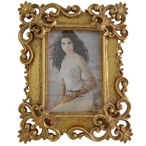 Gift Garden Gold Ornate Picture Frame 4 By 6 Inch Giftgarden Http