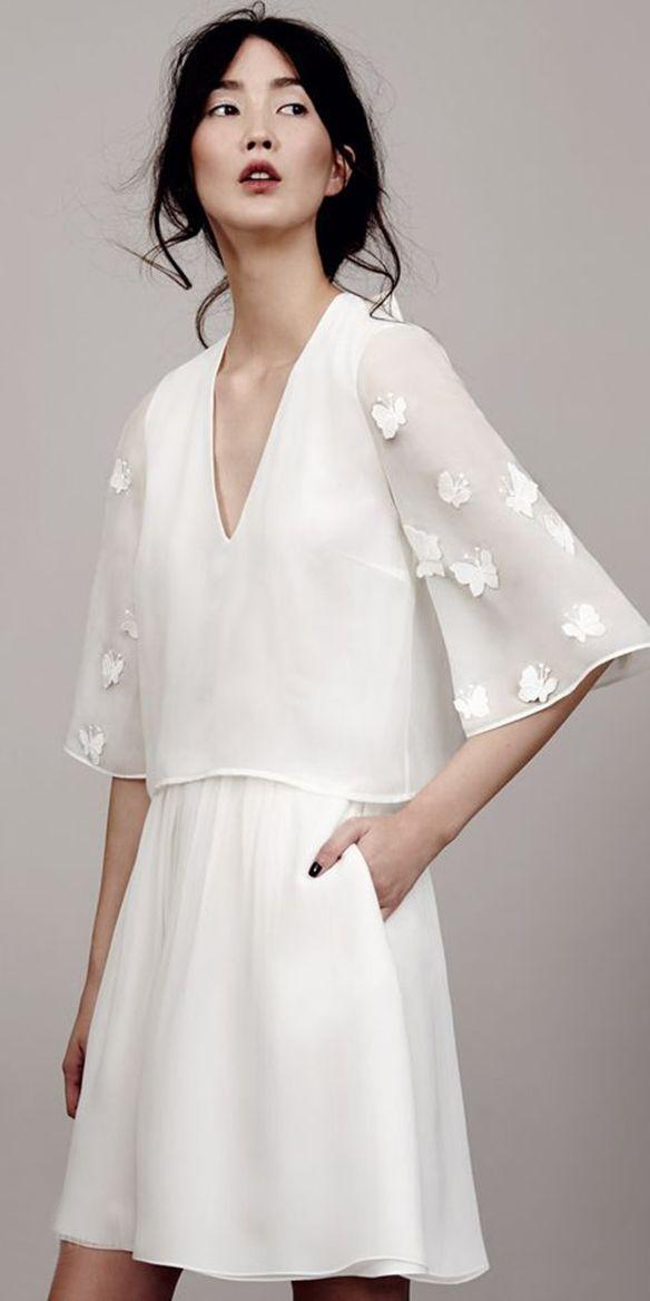 15 Colgadas De Una Percha Que Tipo Novia Eres What Kind Of Bride Are You Wedding Gown Dress Vestidos Bodas Fl Print Estampado Flores 4