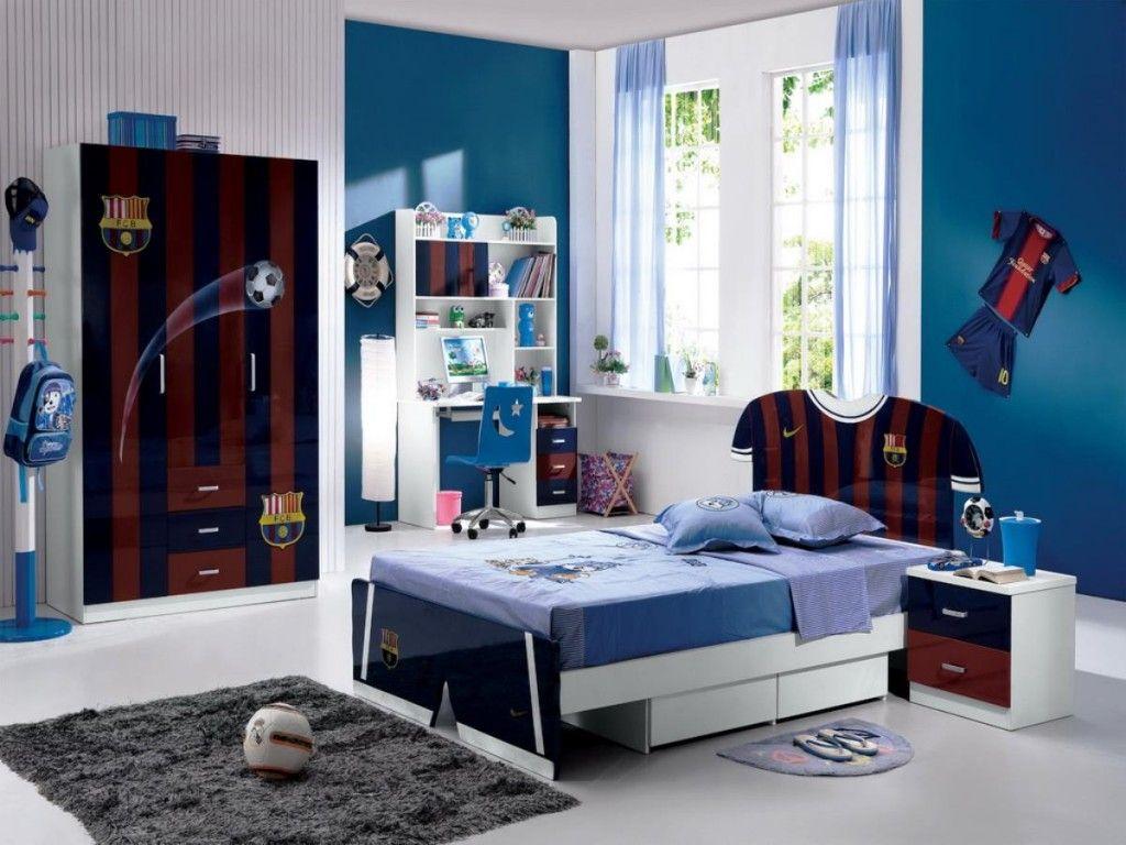 Badezimmerdesign für mädchen fußball thema schlafzimmer eingerichtet für coole jungs  mehr auf