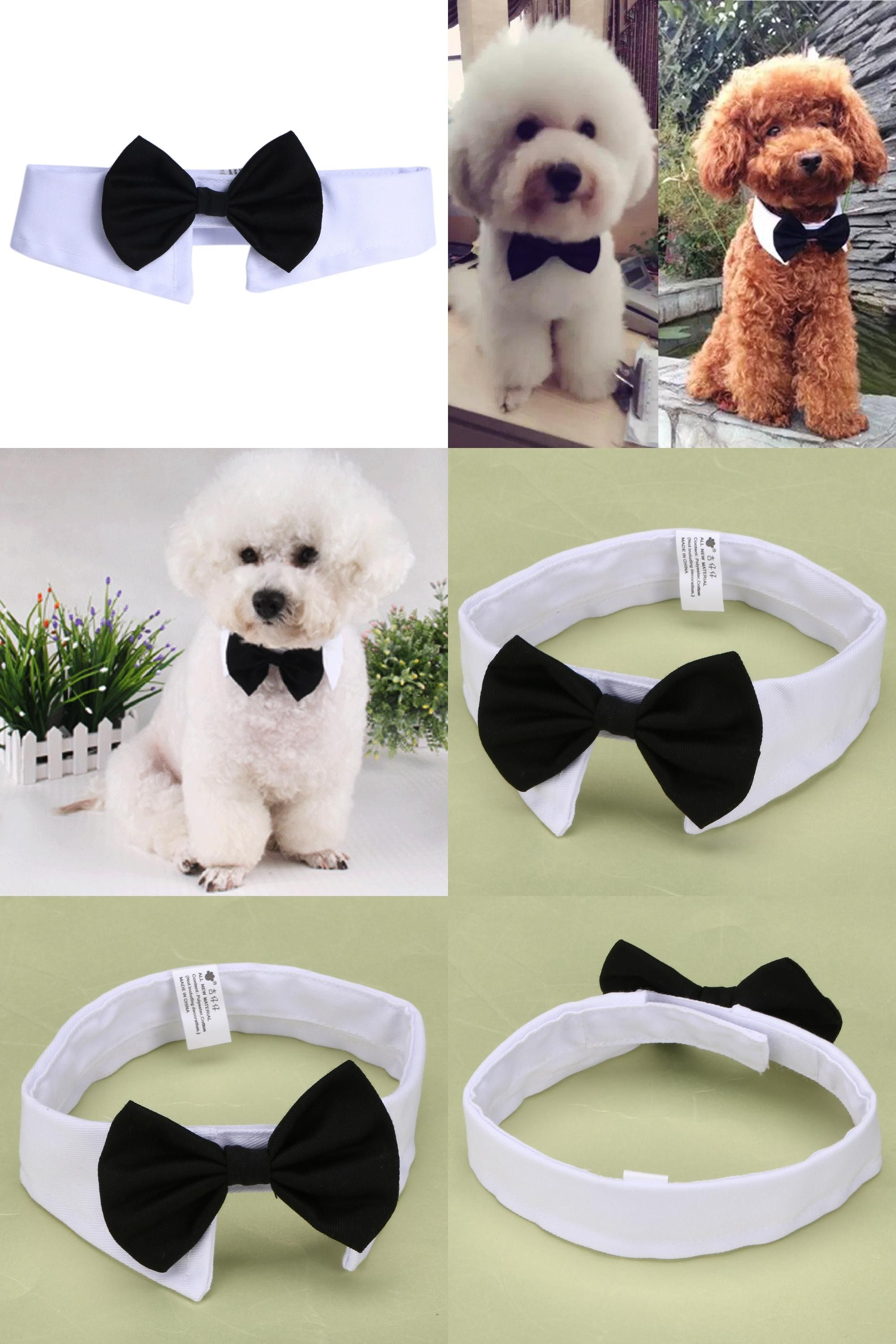 Visit To Buy Fashion Adorable Dog Bow Tie Cat Pets England Bow Butterfly Tie Necktie Collar Clothes For Wedding Party E Dog Collar Bow Tie Dog Bowtie Cat Tie