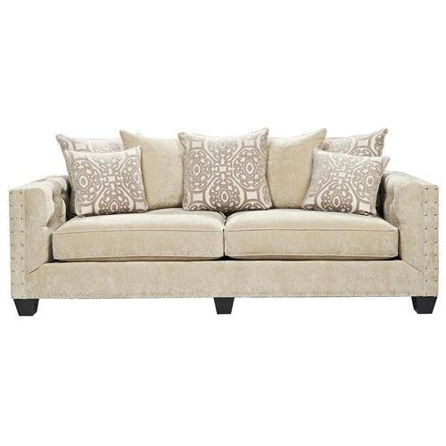 Living Room Furniture Erie Pa dynasty contemporary loose pillow back stationary sofa with