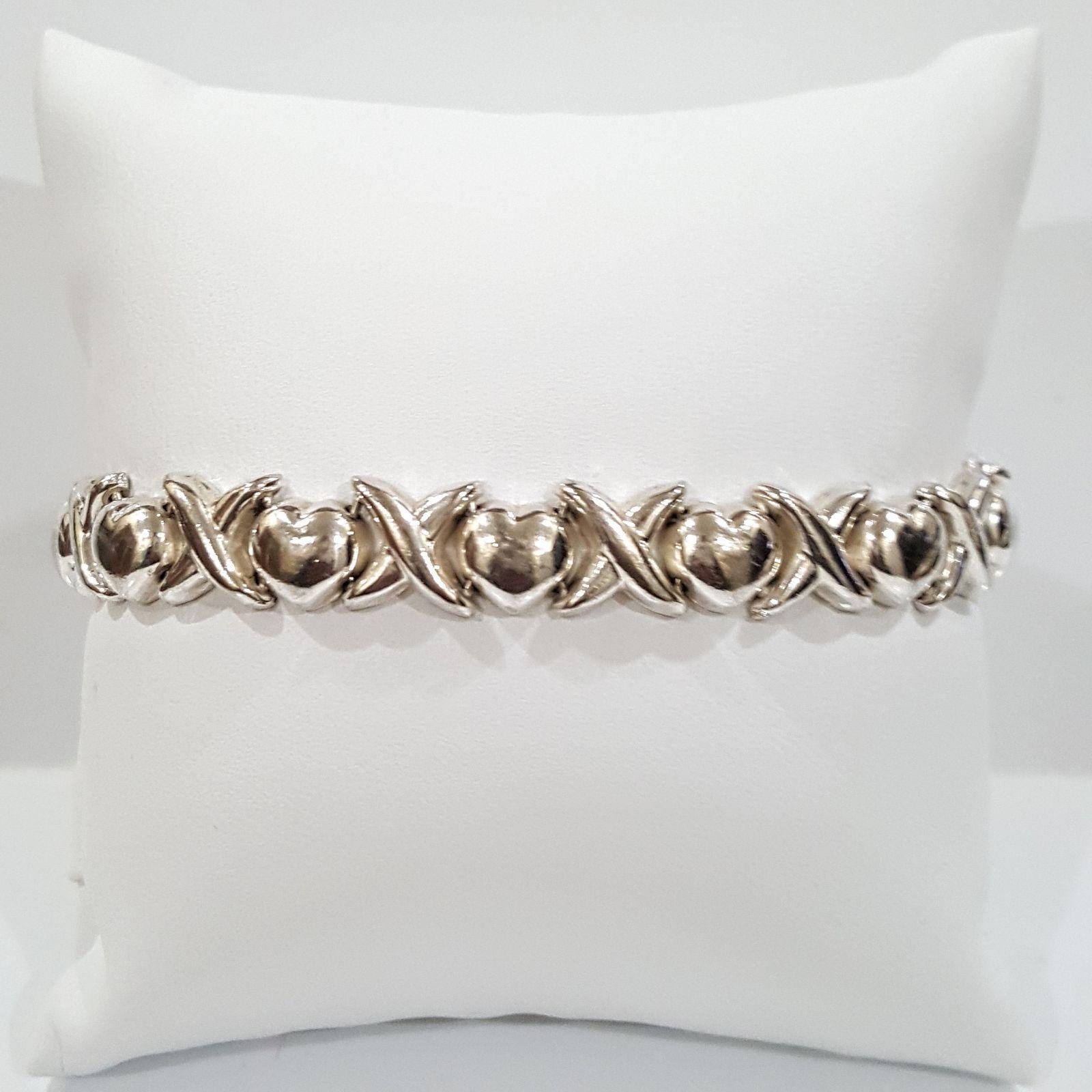 925 silver bracelets with burnished finish