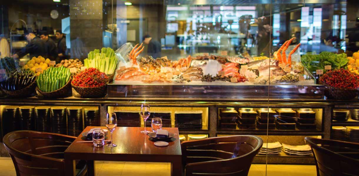 Novikov Asian Restaurant With Images Produce Displays