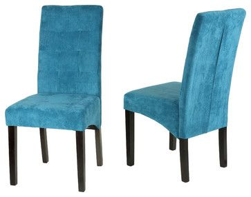 Microfiber Parsons Dining Chairs