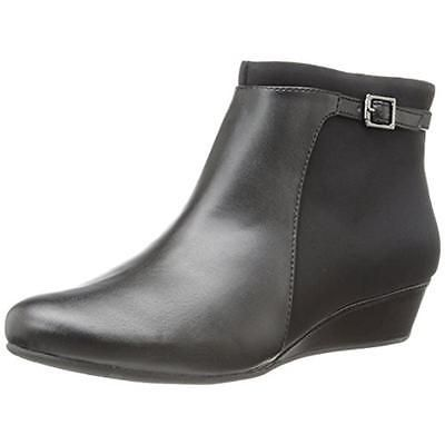 Black Ankle Boots Shoes 6.5 Wide