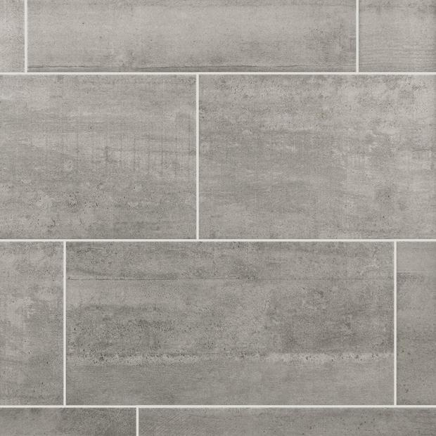Concrete Gray Ceramic Tile Floor Decor Grey Ceramic Tile Grey Floor Tiles Flooring
