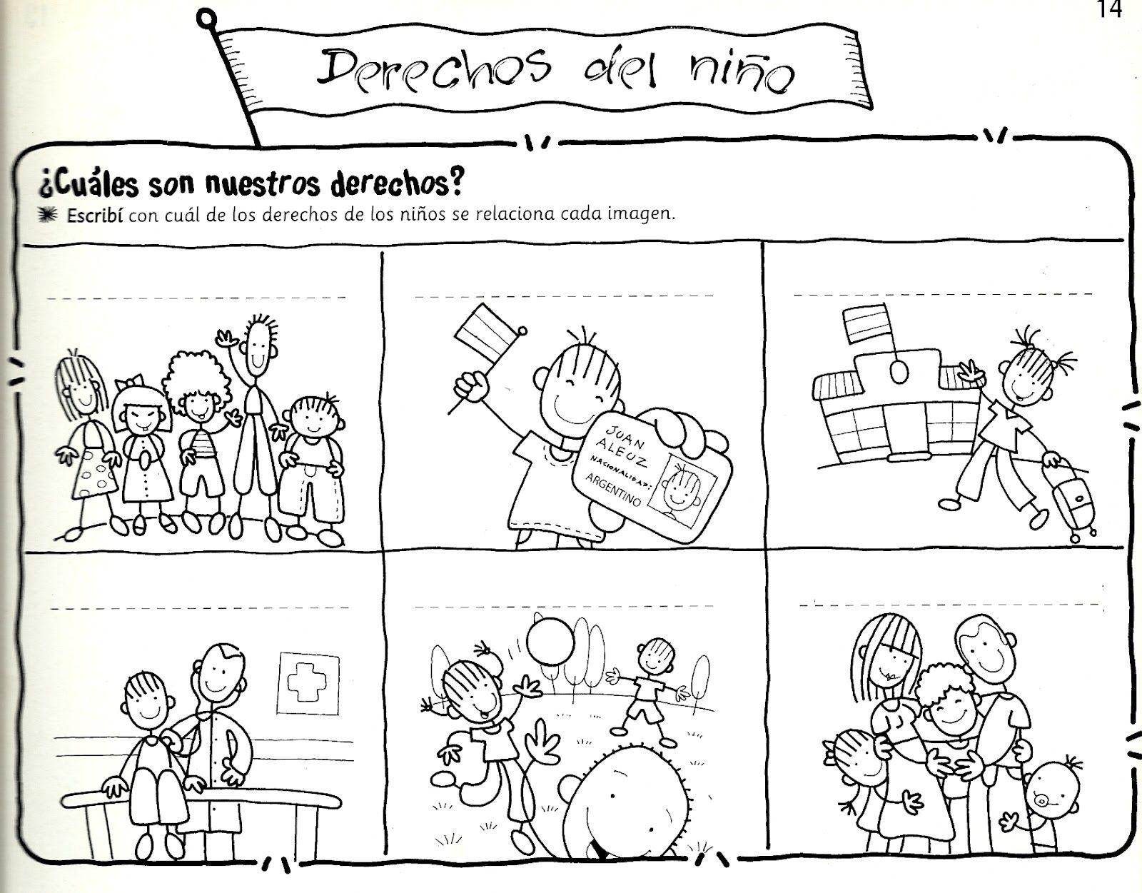 Pin De Cuteproyect En Derechos De La Infancia Dibujos Para Colorear