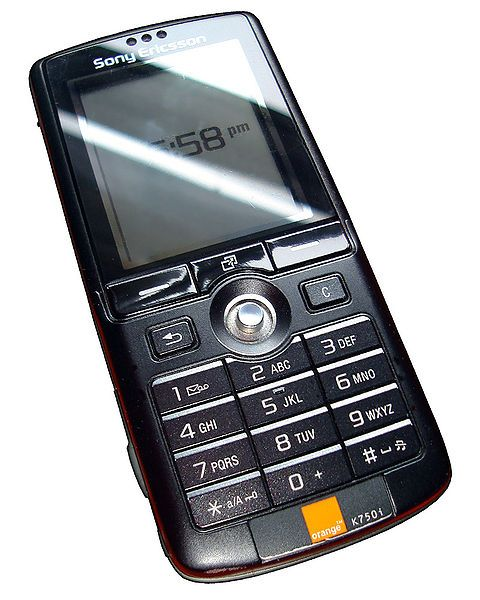 File K750ifront Jpg Wikipedia The Free Encyclopedia Sony Mobile Phones Mobile Phone Sony Phone