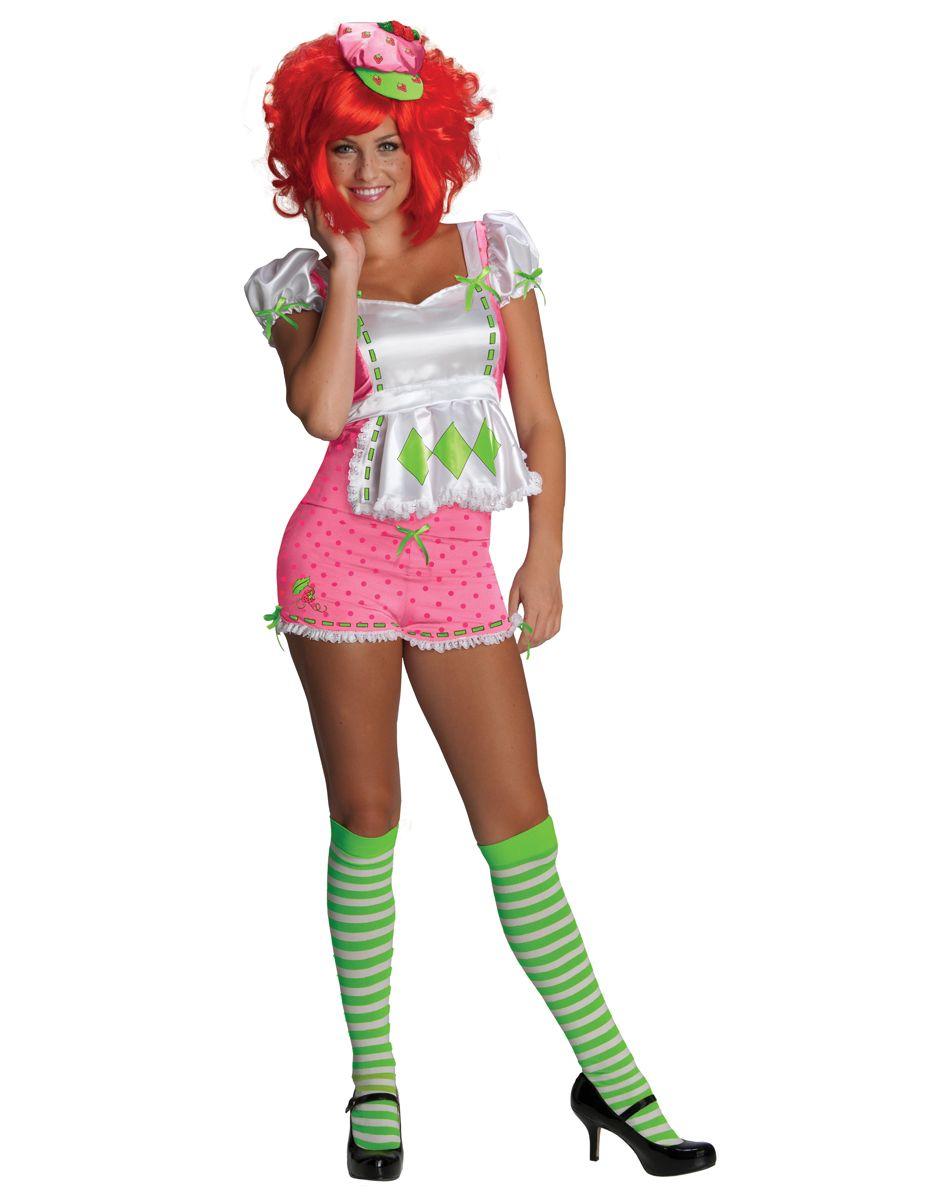 Strawberry Shortcake Womens Adult Costume – Spirit Halloween ...