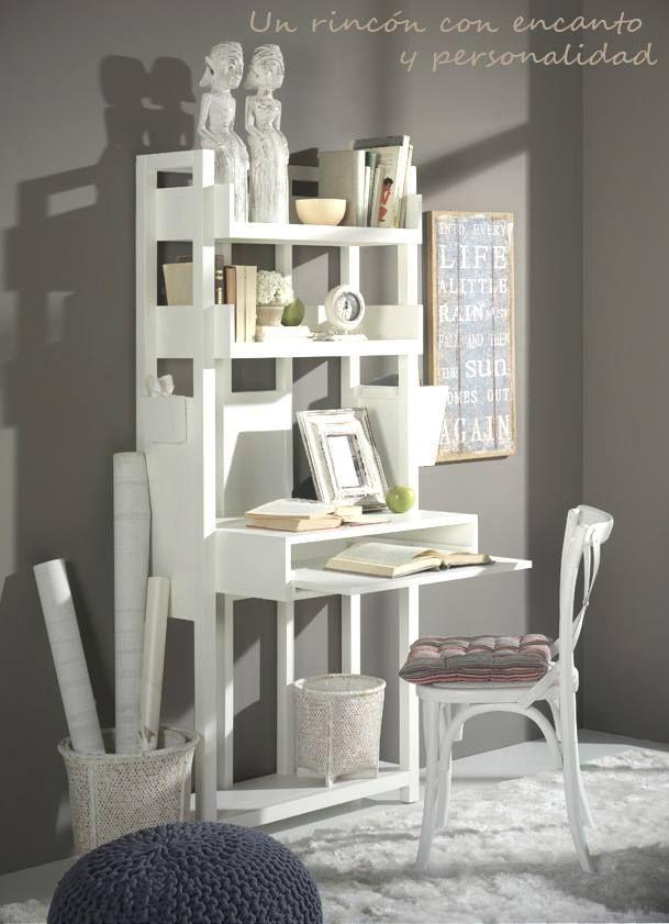 Nurse mueble computer de banak importa white wood for Muebles estilo banak