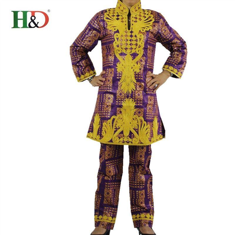 (무료 배송) 아프리카 리체 바쟁 전통적인 의류 코튼 bazin100 % 자수 자카드 천 세 조각 정장 & 2570