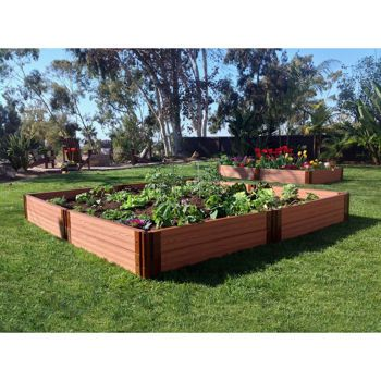Costco: Frame-it-All® System Raised Garden Bed kit 8 ft. x 8 ft. x ...