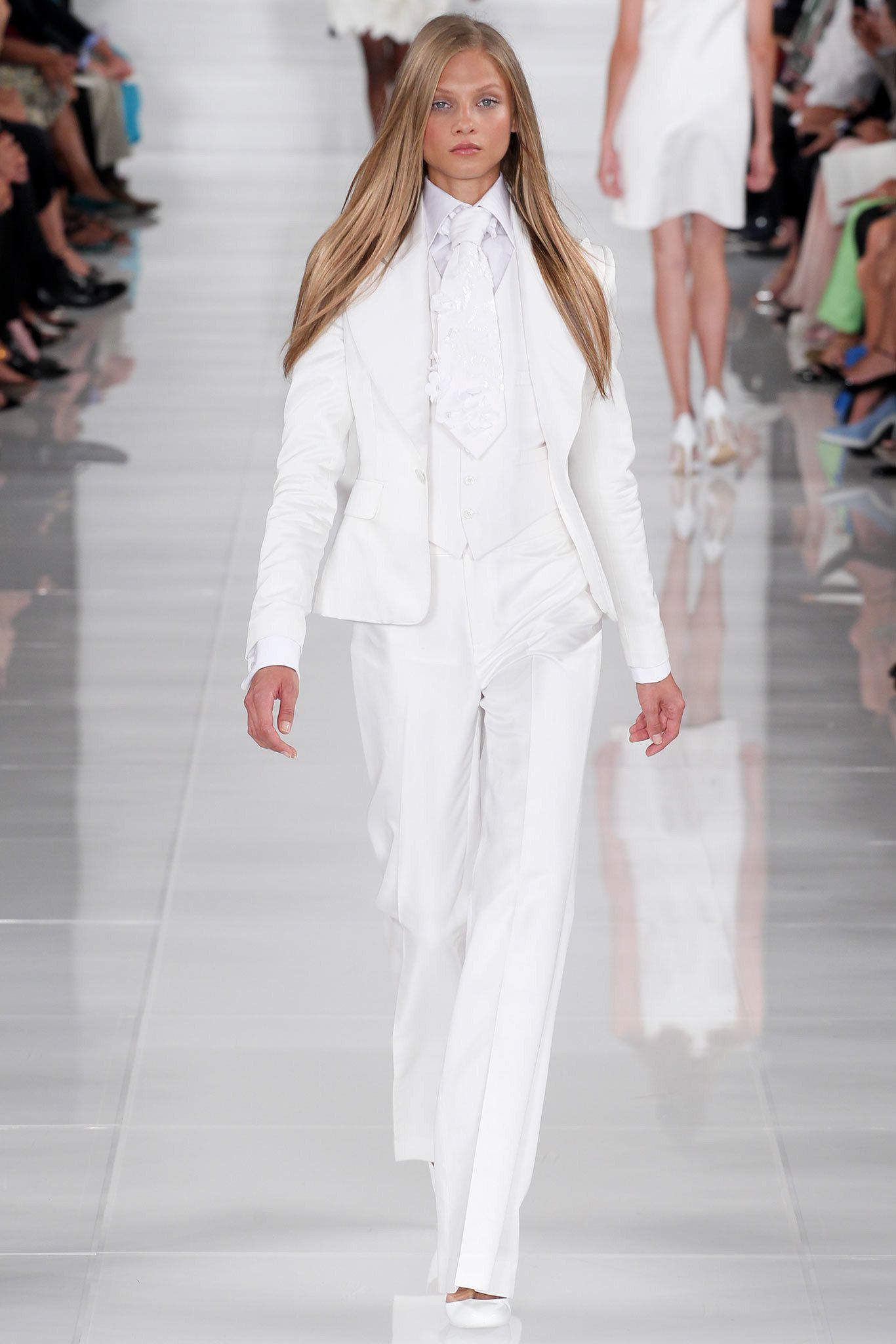 Ralph Lauren Spring 2014 Ready-to-Wear Fashion Show - Anna Selezneva