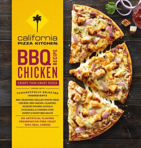 California Pizza Kitchen Bbq Chicken Pizza Calories