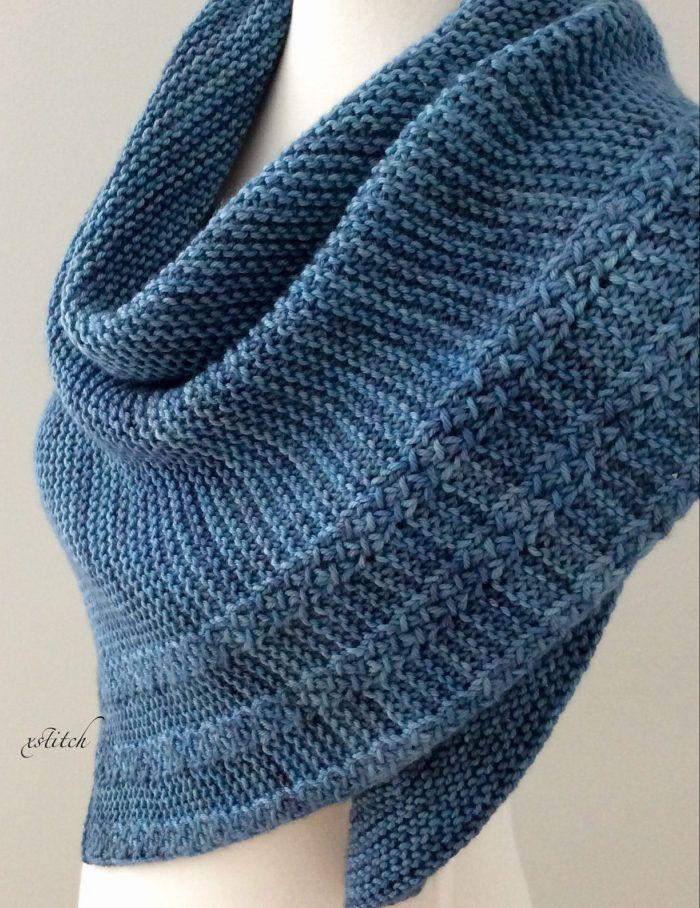Free Until Dec. 21 2017 Easy Lagom Scarf or Shawl Knitting Pattern ...