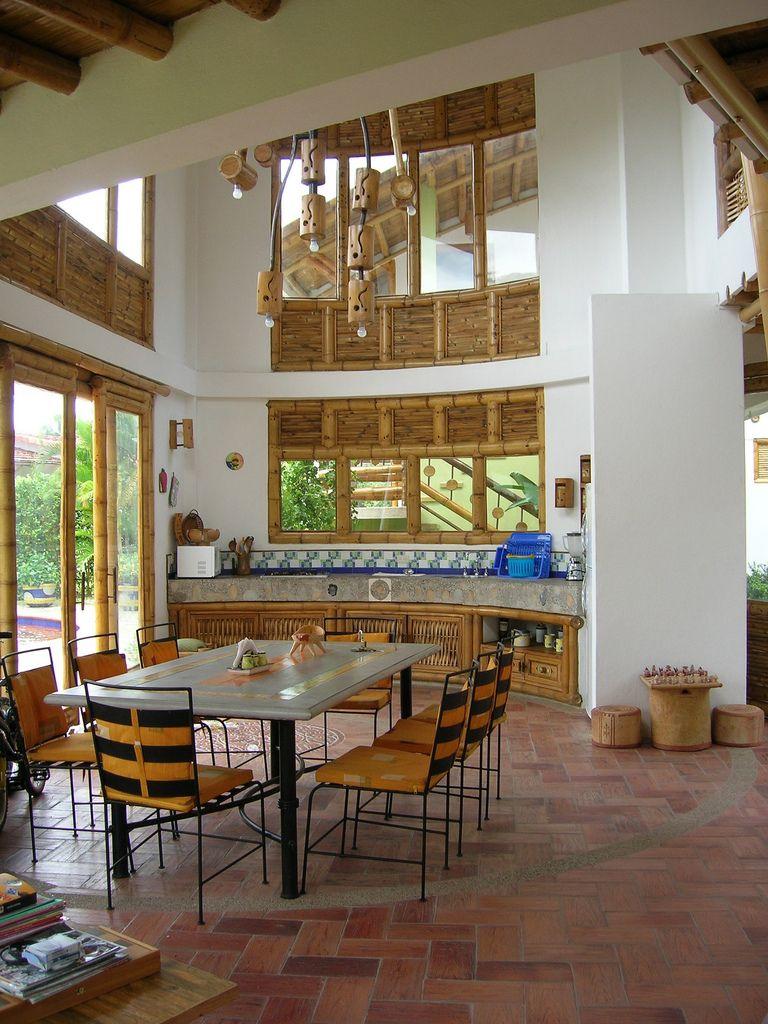 Interior Casa En Guadua Www Zuarq Co Interiors # Colombiana De Muebles Wl