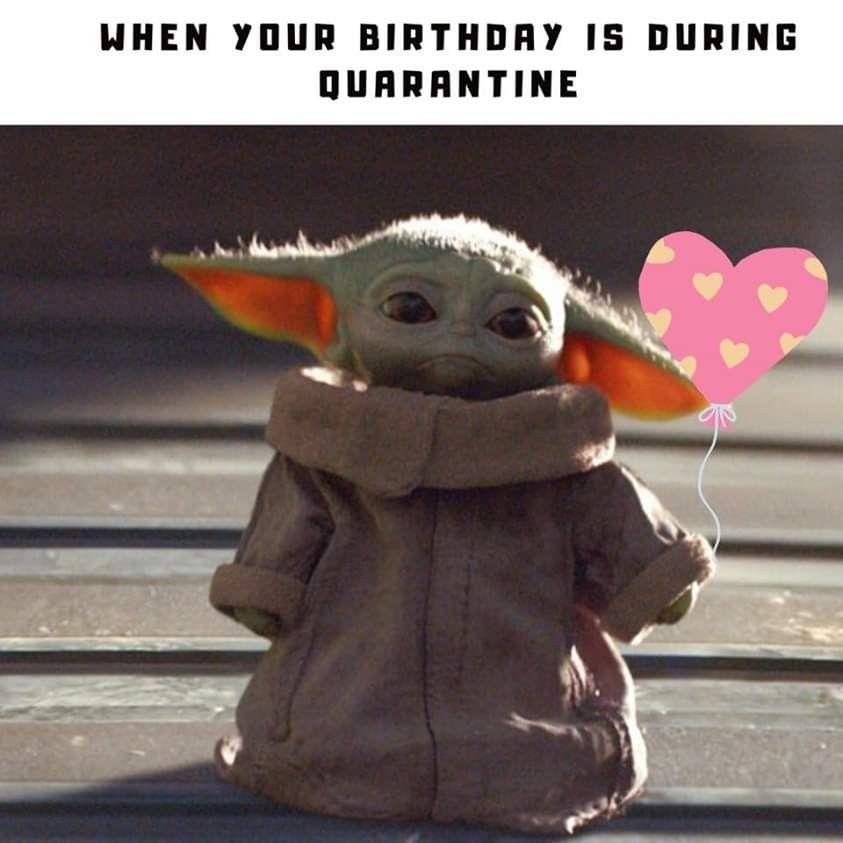Pin By Shelley Sheridan Ziola On Baby Yoda Memes Yoda Happy Birthday Yoda Funny Yoda Meme